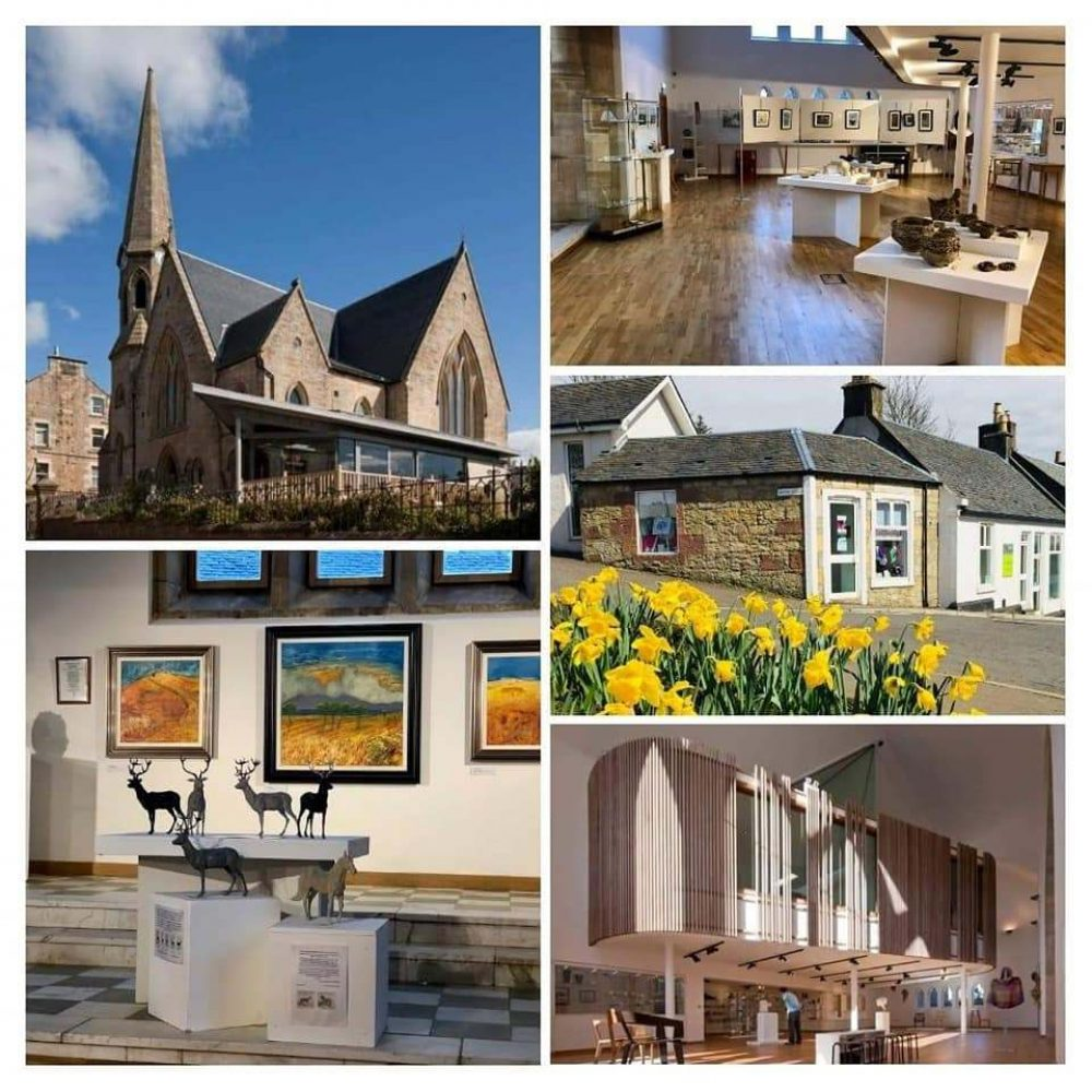 collation of pictures of West Kilbride