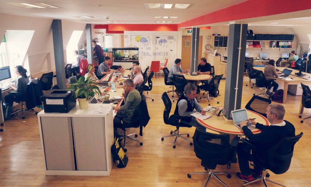 inside the The Melting Pot coworking hub