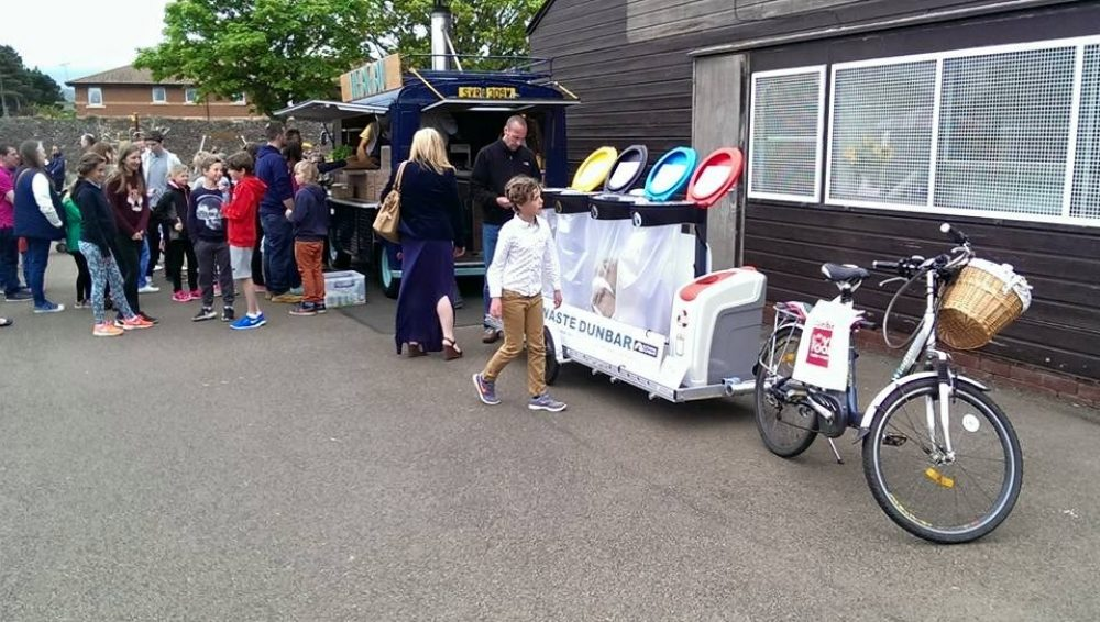 mobile recycling station (image courtesy of Miixer CIC)