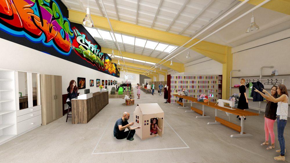 reuse centre (image courtesy of Miixer CIC)