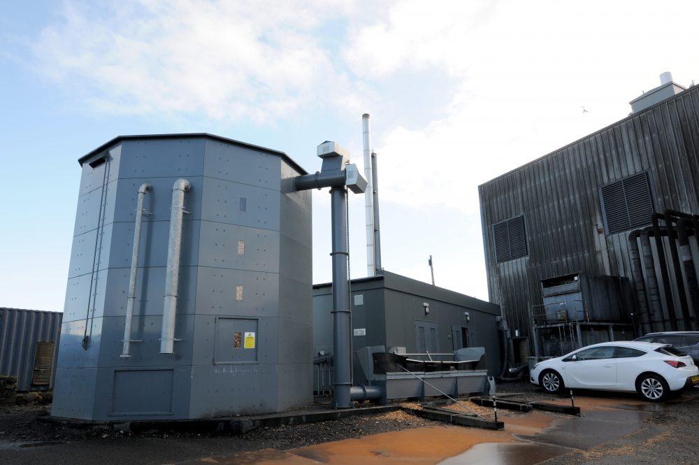 woodchip boilers (image courtesy of Energy Saving Trust)