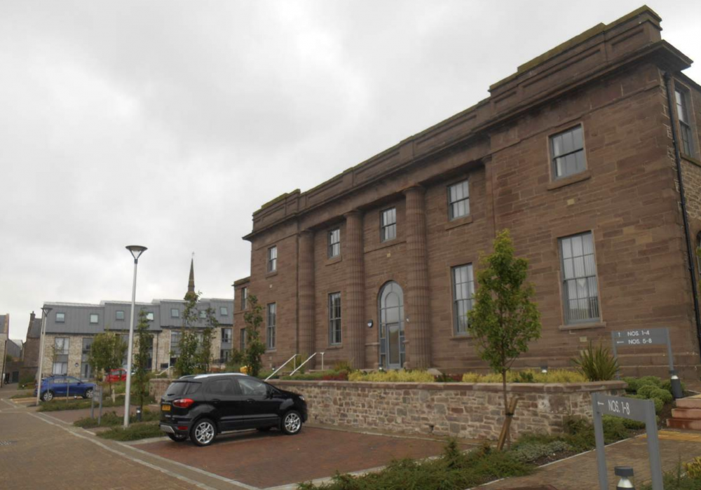 new homes in former school building, Forfar (courtesy of Angus Council)