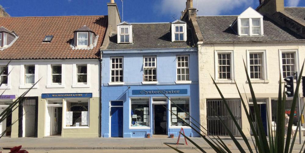 Linlithgow shopfronts (image courtesy of West Lothian Council)