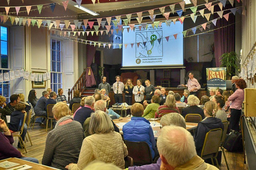 community event in Moffat