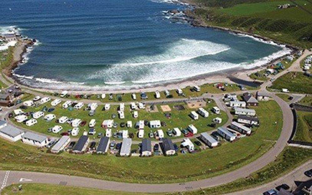Portsoy Caravan Park (image courtesy of Portsoy Community Enterprise)
