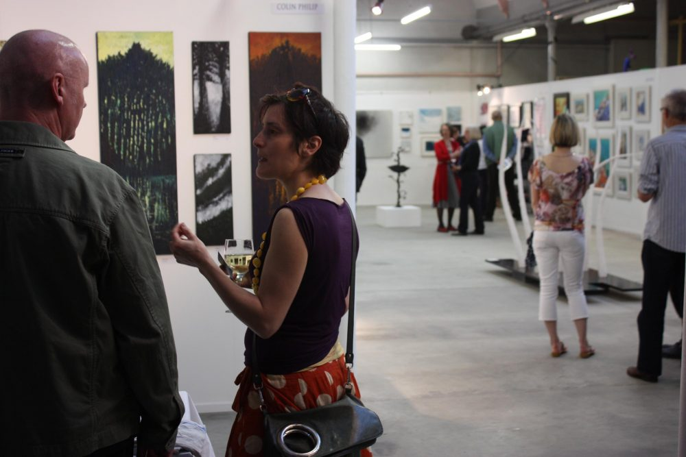 studio opening (image courtesy of St Mary's Mill studios)