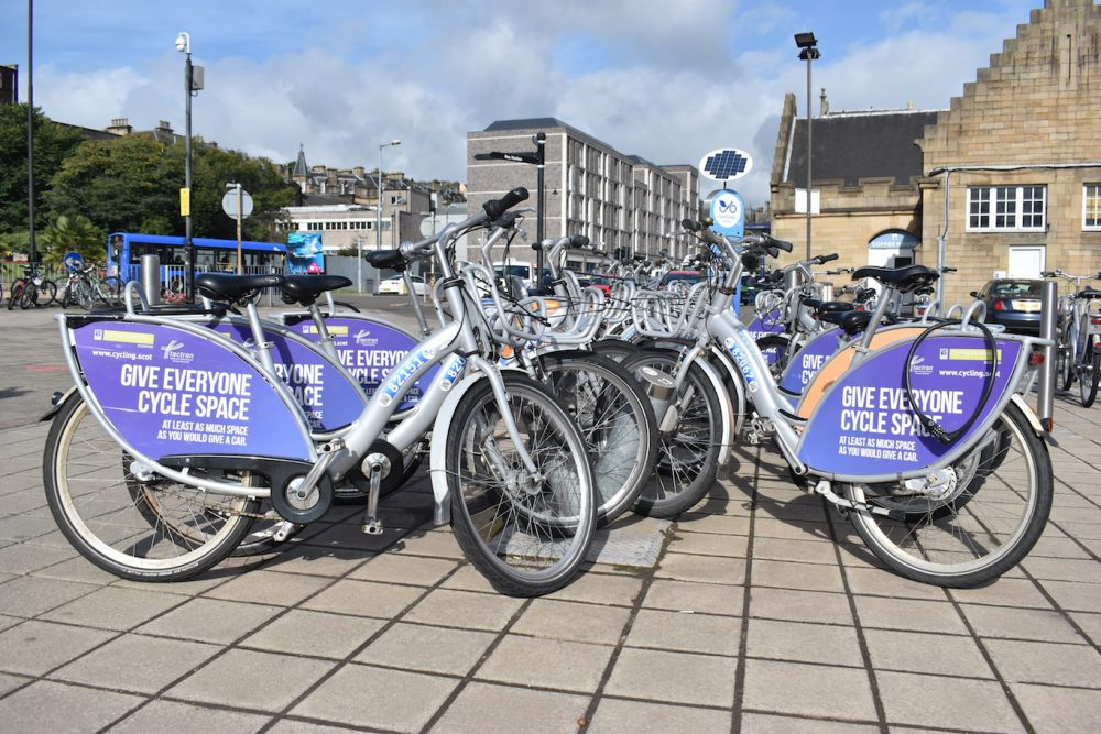 Stirling Active Travel Hub (image courtesy of Forth Environment Link)