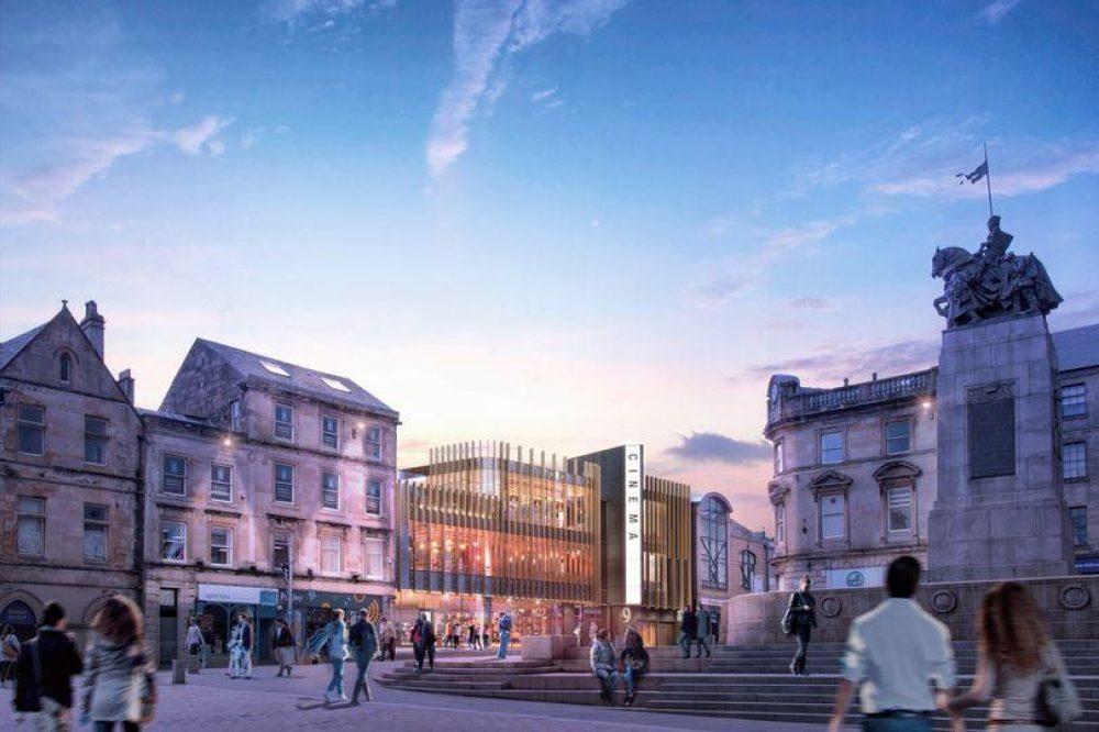 visualisation of revitalised high street