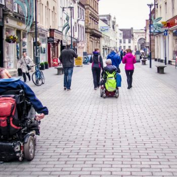 Inclusive thinking courtesy of Living Streets